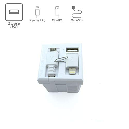 Cargador USB universal WMC para pared: Amazon.es: Bricolaje ...