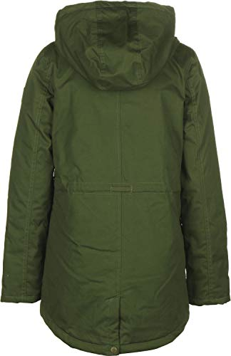 Parka Oscuro Mujer Element Verde Twill Misty 0Zqwz