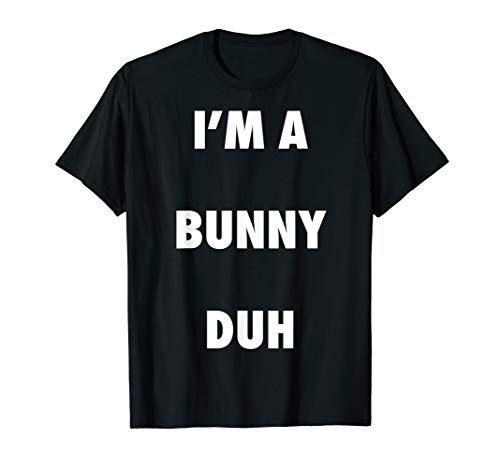 Easy Halloween Bunny Costume Shirt for Men Women Kids -