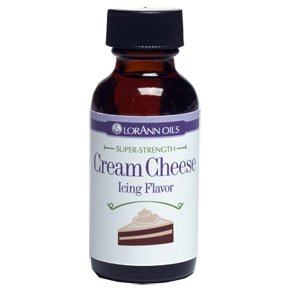 Lorann Hard Candy Flavoring Oil Cream Cheese Flavor 1 Ounce