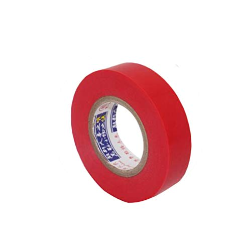 18M Electrical Insulation Adhesive Tape Waterproof PVC Wide High-Temperature Tape, 5pcs