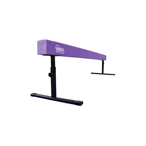 Purple 8ft Adjustable Balance Beam (12in 18in)