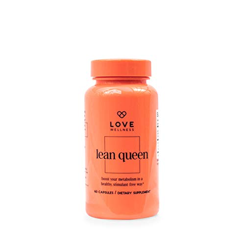 Love Wellness Lean Queen - Natural Metabolism Booster - Thyroid Support - Selenium & Green Tea