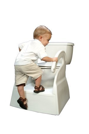 Amazon.com  The Potty Stool for Toddler Toilet Training Step Stool  Baby  sc 1 st  Amazon.com : toddler step stool - islam-shia.org