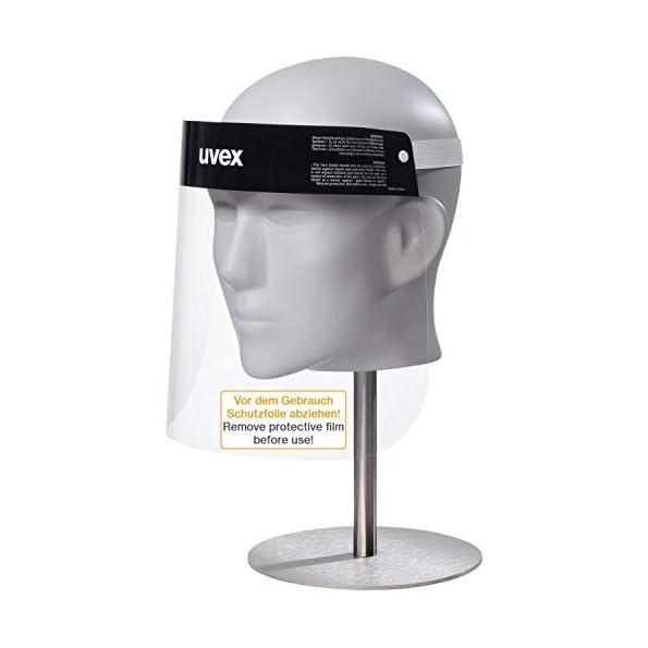 uvex-9710-PET-Gesichtsschirm-Schutz-Visier-Spuckschutz-Visier-fr-Damen-Herren