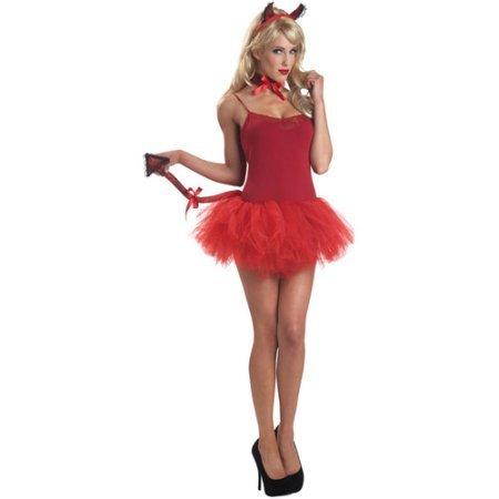 Sassy Devil Set Adult Halloween Accessory