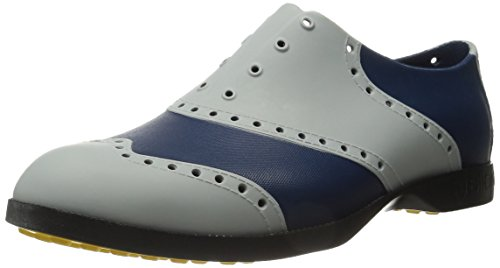 Biwing Wingtips Oxford E Golf Slip On Silver / Navy
