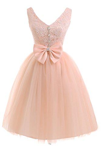 piega cocktail corto delle merletto vestito partito Ivydressing signore il da abito sera tulle da da Orange vestito preferita amp; aYqTwx
