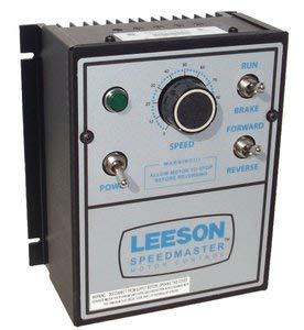 - Leeson DC Motor Control # 174308 - NEMA 1 - 90/180VDC, 1/8 hp to 2 hp Reversing
