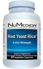 Numedica, levure de riz rouge Extra Strength 90 capsules végétales