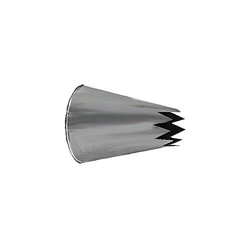 PhantomSky 4 Pieces Large Icing Piping Nozzles Tips Set Stainless Steel Cake Decorating Kit Sugarcraft Cookies DIY Decoration Tool for Baking Cakes Cup Cakes