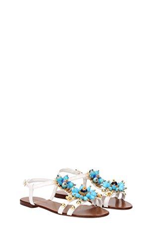 Sandali Dolce & Gabbana Donna - Pelle (cq0069ad138) Eu Bianco