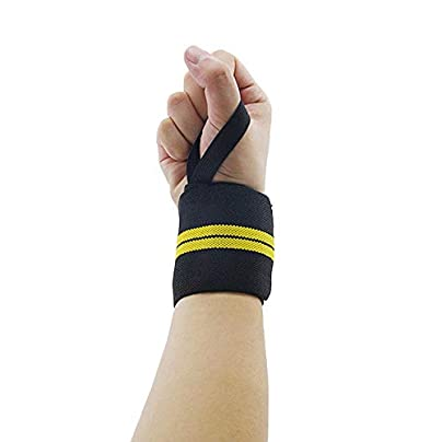 DHDHWL Wristbands Pairs Wristband Wrist Band Protector Weight Lifting Straps A Estimated Price £15.90 -