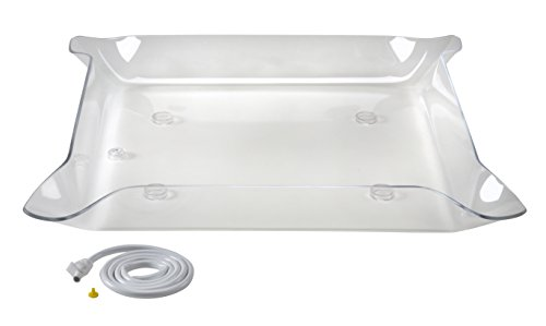 Glo-Ice - Small Clear Tray. 30'' x 30'' - Bot. Drain by Glo-Ice®