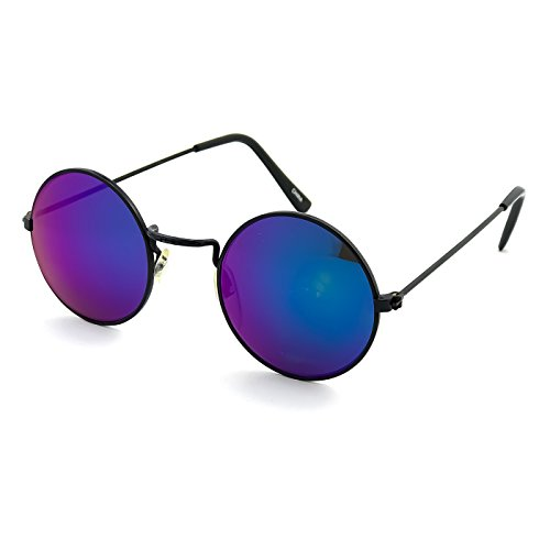 eb11bb6c02 Gafas de sol Hippie estilo TEASHADES ESPEJO de la ronda de JOHN LENNON  hombres mujeres UNISEX