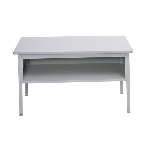 Safco Products 7749GR E-Z Sort Mail Station Sorting Table with Shelf, ()