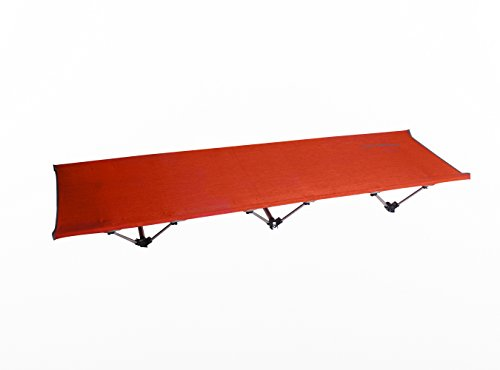 Siesta Aluminum Sling (Petrous Siesta 3V Foldable Cot, Red - Ultralight Compact Bed for Camping, Backpacking, Hiking)