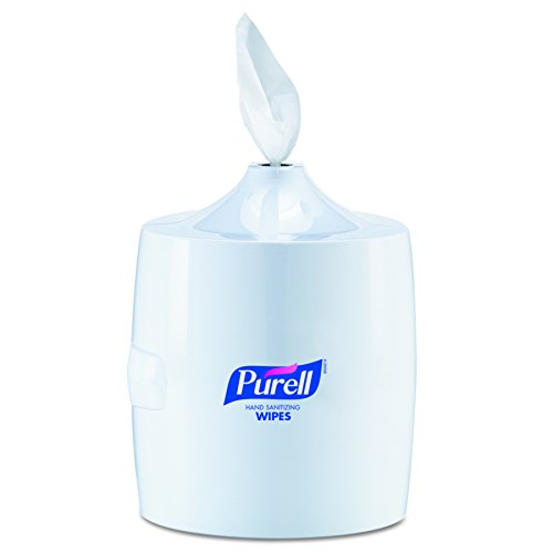 01 Barbecue - PURELL 9019-01 White Sanitizing Wipes Large Wall Dispenser
