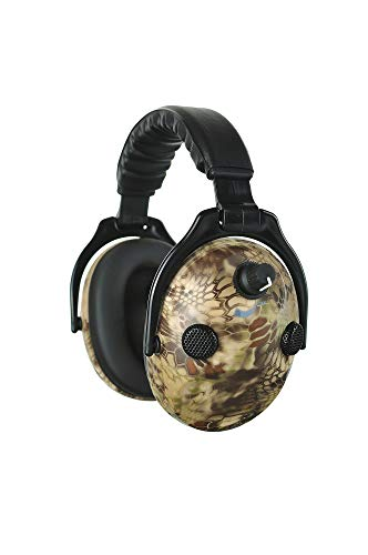 PROTEAR Earmuffs Noise Cancelling Hearing Protection Folding Headphones, 9X Hearing Enhancement Earmuffs with Black Case Bag by PROTEAR (Image #2)