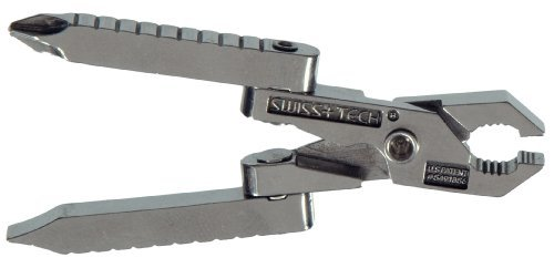 Swiss Tech Products ST50022 Micro Tech Key Ring Multi Tool, 6 In 1