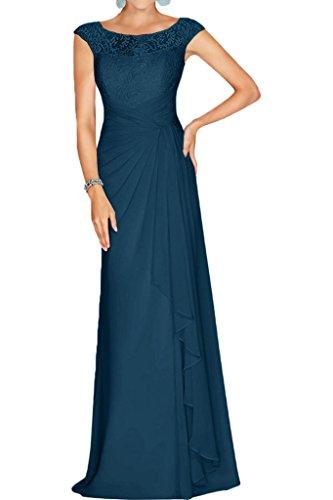 Tinte Linie Brautmutterkleider Partykleider La Ausschnitt Abschlussballkleider A Braut Abendkleider mia Chiffon Spitze Blau Weinrot U wxaOqPY