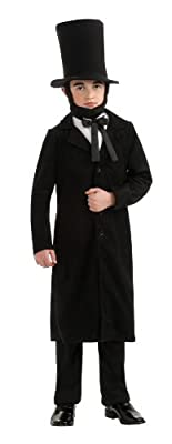Rubies Deluxe Abraham Lincoln Costume - Medium 6- 8 by Rubies - Domestic