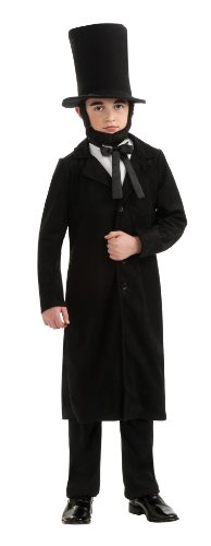 Child's Deluxe Abraham Lincoln Costume Size Large (12-14) (Abraham Lincoln Costume For Child)