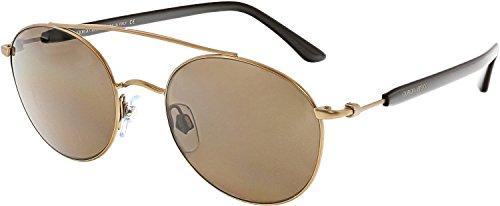 Giorgio Armani Mens Sunglasses (AR6038) Bronze/Brown Metal - Non-Polarized - - Armani Spectacle Frames Giorgio
