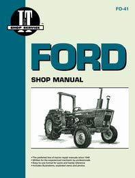 Ford 4610 Tractor Service Manual (IT Shop) by Jensales