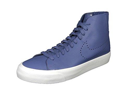 Nike - Zapatillas de Piel para hombre Azul Royal Blue / White