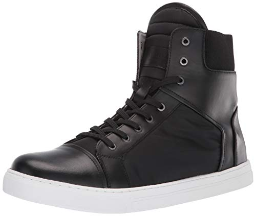 Kenneth Cole New York Men's Kam High Top Sneaker, Black, 11 M US