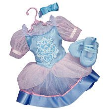 Cinderella Outfit - Disney Princess & Me Ballet Doll Outfit and Toe Shoes - Cinderella