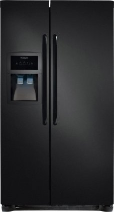 012505700002 - Frigidaire FFHS2622MB 26 Cu. Ft. Side-By-Side Refrigerator - Black carousel main 0