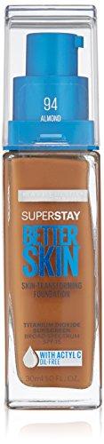 Maybelline Super Stay Better Skin Foundation, Almond, 1 fl. oz.