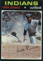 1971 Topps #275 Vada Pinson by Topps