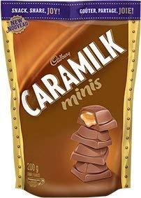 Caramilk Chocolate Bar - Cadbury Caramilk Minis - Bite Sized 200g {Imported from Canada}