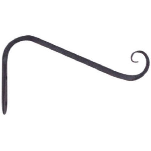 Panacea 89405 Forged Angled Wall Bracket, Black - Panacea Plant Bracket
