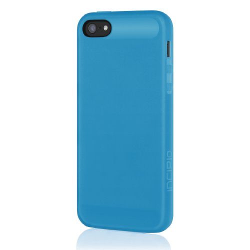 Incipio NGP Case for iPhone 5S - Retail Packaging - Translucent Blue