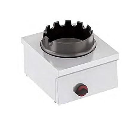 Hornillo a Gas Para Wok 1 fuego Dim. 400 x 450 x 240H mm hotclass: Amazon.es: Hogar