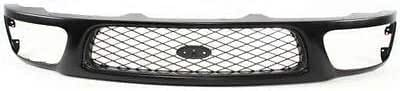 NEW FRONT GRILLE DARK GRAY FITS 1997-1998 FORD F-150 FO1200328 F65Z8200AAN
