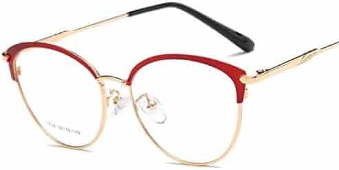 b5bf5d76779c CHICLI Cat Eyewear Women Optical Glasses Frame Clear Lens Oculos De Sol  Feminino Myopia Gafas Red