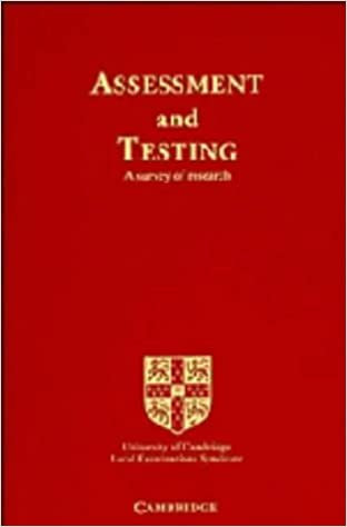 Title: Assessment and Testing A Survey of Research