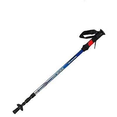 1 Paire de bâtons de randonnée-réglable de 110 à 145 cm