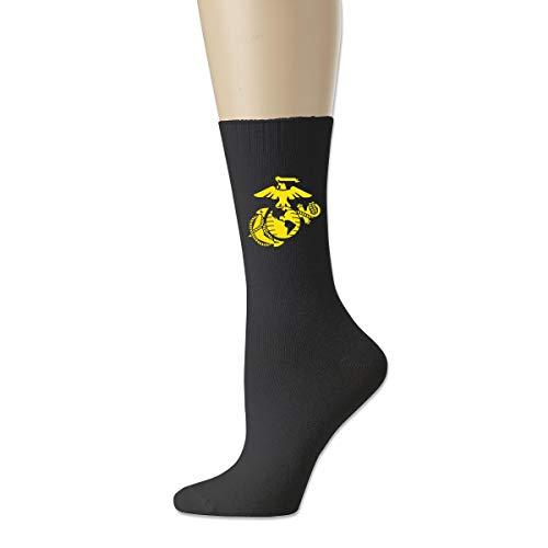 USMC Marine Corps Logo Cotton Socks For Men Women