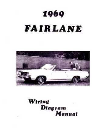 amazon com 1969 ford fairlane torino wiring diagrams schematics rh amazon com