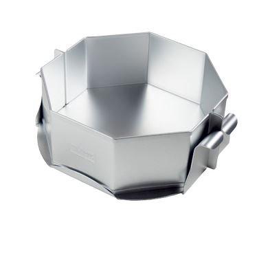 Alan Silverwood Silber eloxiert 20,3cm achteckig Käse Kuchen/Kuchenform, Pfanne