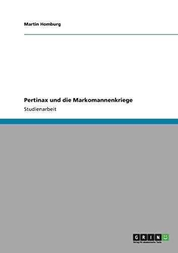 Pertinax und die Markomannenkriege (German Edition)