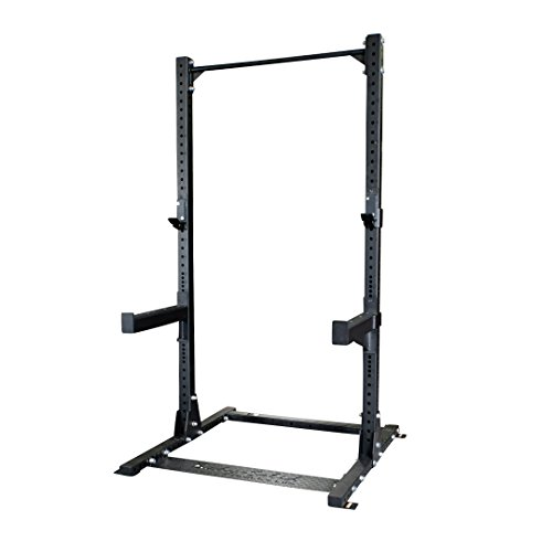 Body-Solid SPR500 Half Cage Rack by Body-Solid SPR500 Half Cage Rack