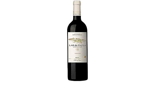 Vino Tinto Lar De Paula Terrazas Crianza Rioja Alavesa Caja 6 Unidades 75 CL: Amazon.es: Alimentación y bebidas