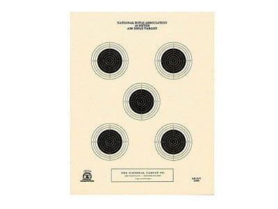 National Target 5 Bull Center Air Rifle Target